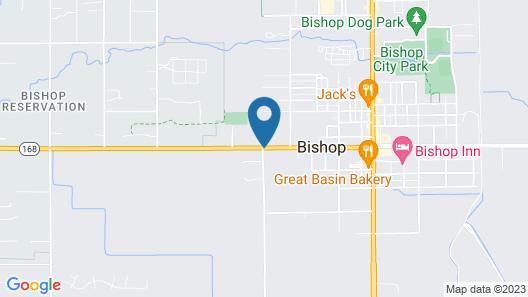 Trees Motel Map
