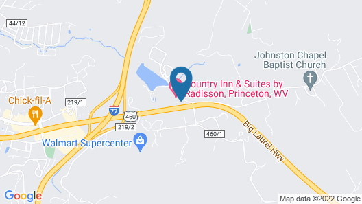 Country Inn & Suites by Radisson, Princeton, WV Map