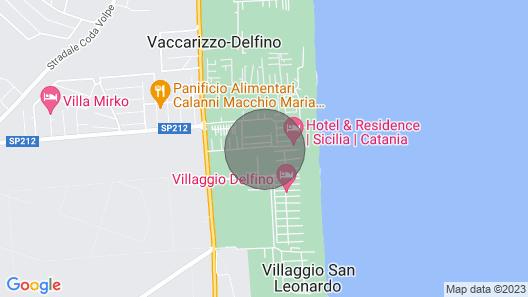 Appartamenti Costa del Sole a 50 mt Dalla Spiaggia di Sabbia Map