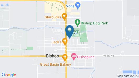 Travelodge by Wyndham Bishop Map