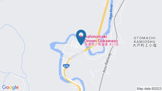 Ookawaso Map