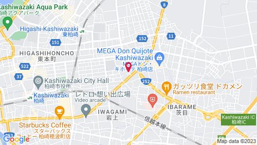 Hotel Route-Inn Court Kashiwazaki Map