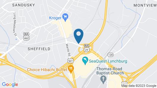 Kirkley Hotel  Map