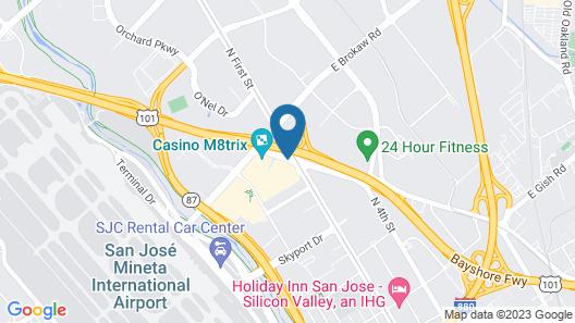 Fairfield Inn & Suites by Marriott San Jose Airport Map