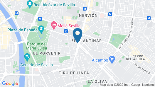 NH Collection Sevilla Map