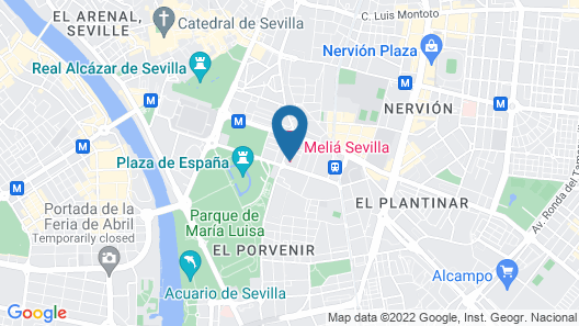 Melia Sevilla Map