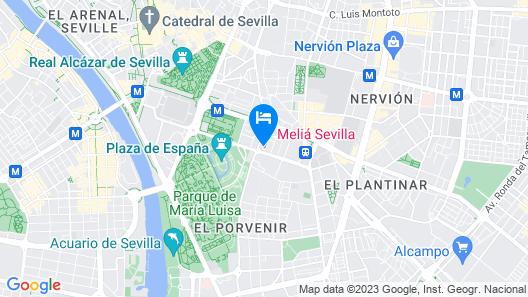 Melia Sevilla Map