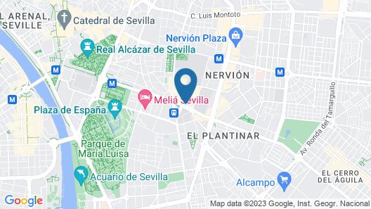 Occidental Sevilla Viapol By Barceló Map