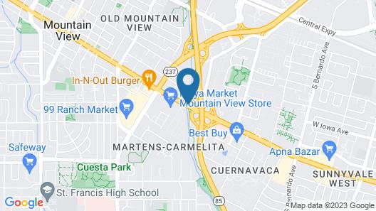 Hotel Zico Map