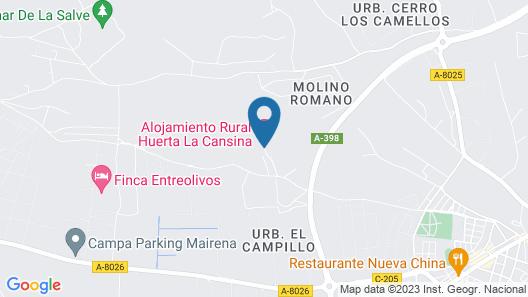 Huerta La Cansina Map