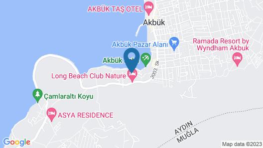 Long Beach Club Nature Map