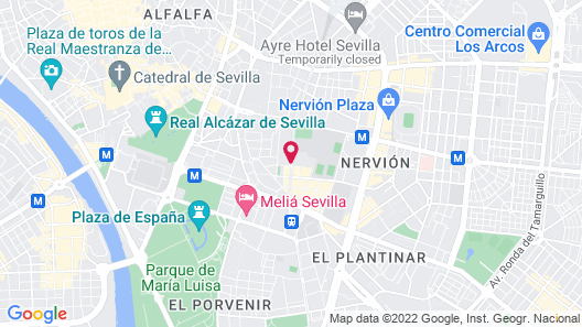 Hotel Sevilla Center Map