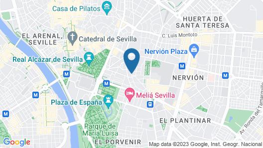Apartamento San Bernardo Map
