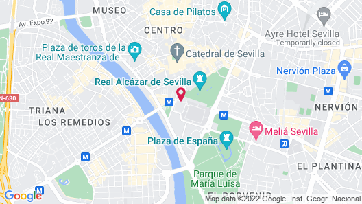 Hotel Alfonso XIII, a Luxury Collection Hotel, Seville Map