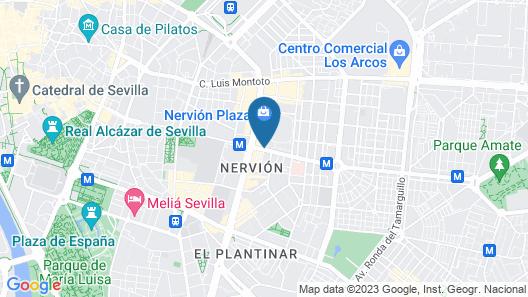 Novotel Sevilla Map