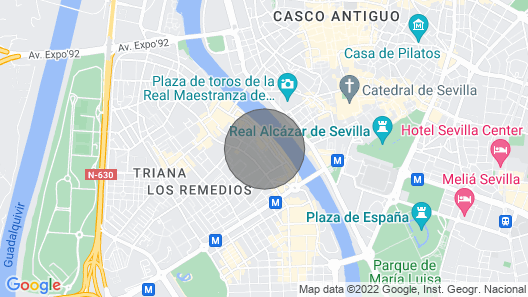 Penthouse in Triana With Terrace Map
