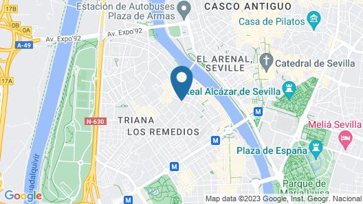 Pierre & Vacances Sevilla Map