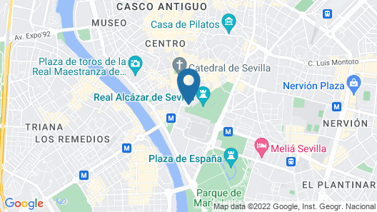Legado Alcázar Hotel Map