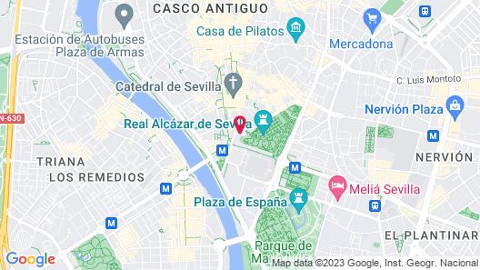 Come to Sevilla - Casa de Mariana Map