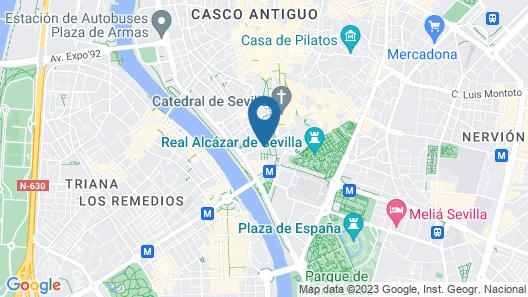 Apartamentos Torre de la Plata Map