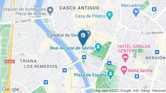 Tomás de Ibarra Pool & Luxury Apartments Map