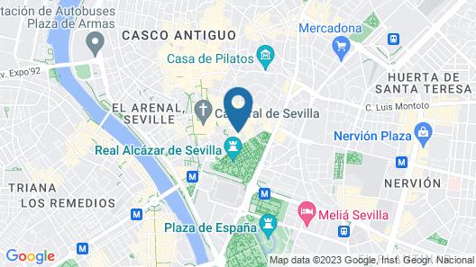 El Rey Moro Hotel Boutique Map