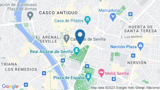 Apartamentos Murillo Map
