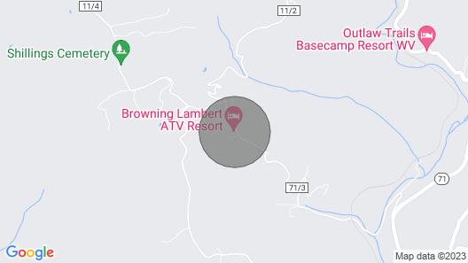 Browning Lambert ATV Resort - Hatfield Mccoy & Local Off-road Trails Map