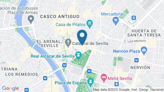 Hotel Casa del Poeta Map