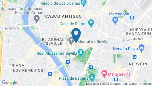 Hotel Doña Maria Map