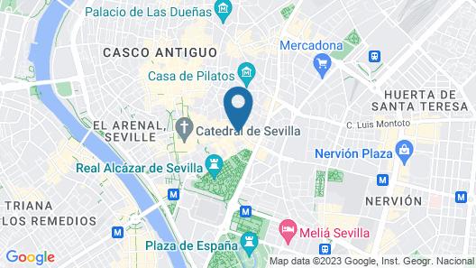 Santa María Apartamentos Map