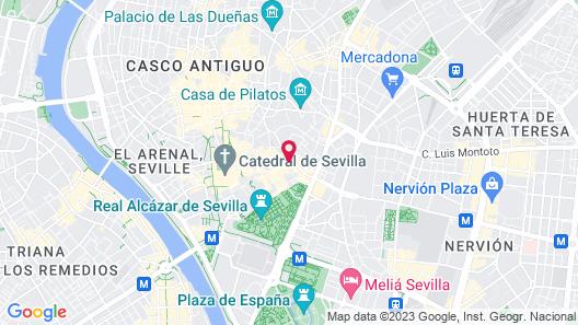 Hotel Rey Alfonso X Map