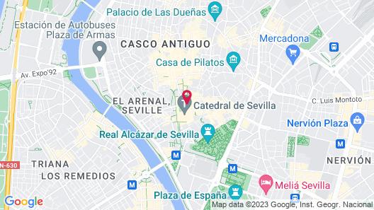 EME Catedral Hotel Map