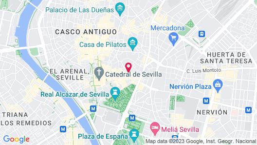 Hotel Fernando III Map