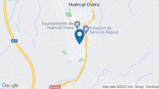 Hostal Zurich Map