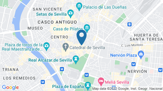 Hotel Amadeus Map
