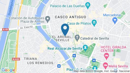 Vincci La Rabida Hotel Map