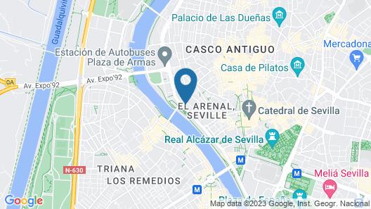 Hotel Kivir Map