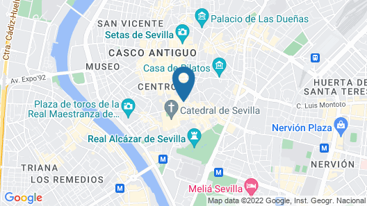 Fontecruz Sevilla Seises Map