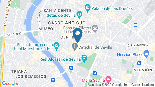 Sevilla Luxury Rentals - Catedral Map