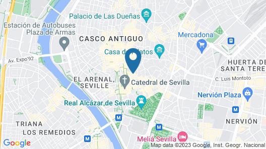 Joya del Casco Boutique Hotel Map