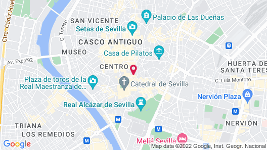 Overland Suites Catedral Map