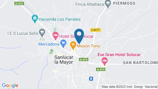 Chalet San Jose Map