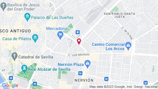 Ayre Hotel Sevilla Map