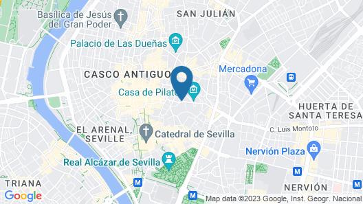 Hotel Abanico Map