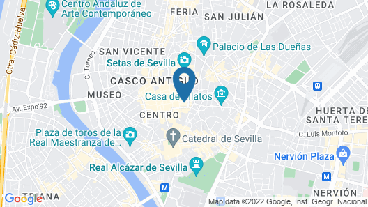 Come to Sevilla - La Casa de las Especias Map