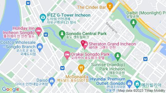 Sheraton Grand Incheon Hotel Map