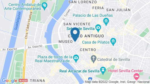 Hotel Colón Gran Meliá - The Leading Hotels of the World Map