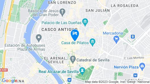 H10 Casa de la Plata Map