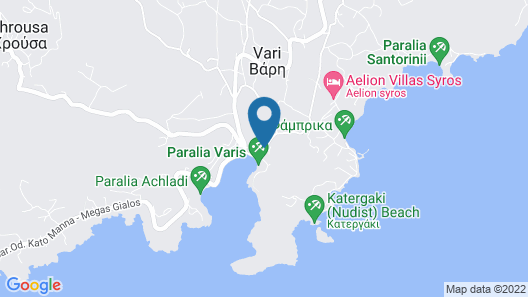 Akti Miaouli Holiday Home Map